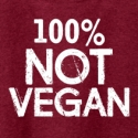 100% Not Vegan