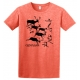Carnivore Cave Painting Adult Tee