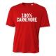 100% Carnivore Mens Performance Tee