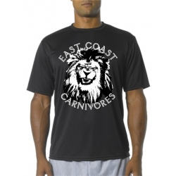 East Coast Carnivores Mens Performance Tee