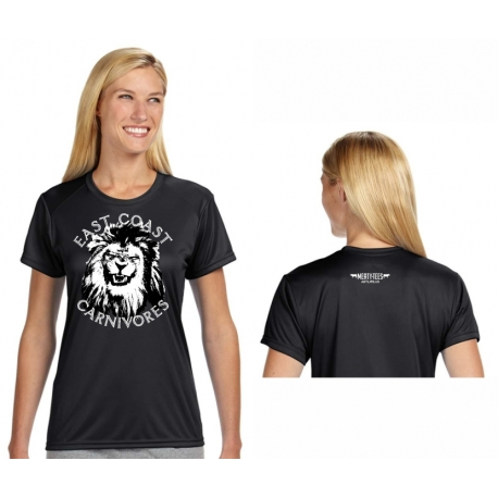 East Coast Carnivores Womens Performance Tee