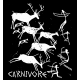 Carnivore Cave Painting Womens Performance Tee