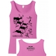 Carnivore Cave Painting Ladies Tank